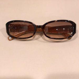 COACH Lindsay tortoise women's sunglasses